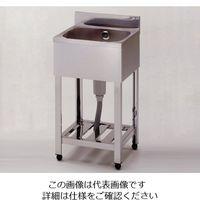 東製作所 流し台(1槽シンク) HP1-1800 1台 1-3409-09 (直送品)