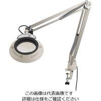 オーツカ光学 LED照明拡大鏡(フリーアーム・クランプ取付式) SKKL-F 6x 1台 2-3094-13(直送品)