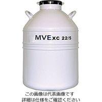 チャートジャパン 液体窒素保存容器 XC22/5 1個 2-5895-02 (直送品)
