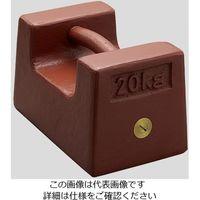 アズワン 枕型分銅 M2RF-20KA 20kg 1個 2-442-01 (直送品)