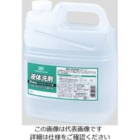 熊野油脂 液体洗剤(業務用) 4L 4229 1個 2-9168-01 (直送品)