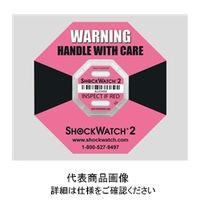 アズワン インジケータSHOCKWATCH210G SHOCKWATCH2-10G 1箱(2枚) 2-8947-02(直送品)