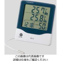 アズワン アラーム時計付大画面温湿度計BT-3 BT-3 1個 2-897-01 (直送品)