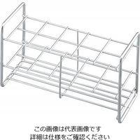 アズワン ステンレス試験管立 配列:2×5 サイズ:□32mm 30-10 1台 2-9502-54 (直送品)