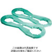 東栄 PFA多目的耐圧ジャー締付用レンチセット 1セット 2-9424-15 (直送品)