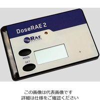 日本レイシステムズ 線量計ドースレイ2(個人線量計) 1台 2-9737-01 (直送品)