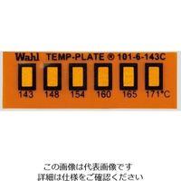 アイピー技研(IPL) 真空用テンプ・プレート(不可逆性) 6点表示 101-6V-110 1箱(10枚) 2-9907-03(直送品)