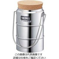 サーモス(THERMOS) ステンレスデュワー瓶 D-1001W 栓付 1個 5-242-11 (直送品)