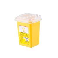 アズワン ディスポ針ボックス 黄色 1L 8-7221-31 1個 (直送品)