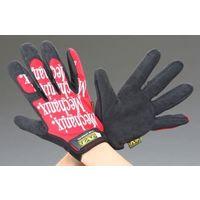 エスコ(esco) [S] 手袋・メカニック(合成革/赤) 1セット(2双) EA353BT-21(直送品)