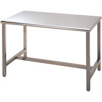 エレクター ステンレステーブル角天板 H型補強 EWT907H 1台 (直送品)