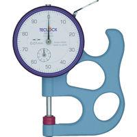 テクロック(TECLOCK) テクロック ダイヤルシックネスゲージ 測定範囲0〜10mm SM-112 1個 103-0027(直送品)
