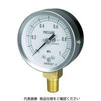 長野計器 JIS汎用形圧力計A枠(テーパ GS50-171-1.0MP 1個 277-2612 (直送品)