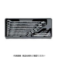 京都機械工具 KTC めがねレンチセット[8本組] TM508 1セット 307-6130(直送品)