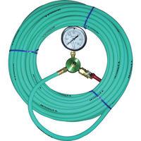 カンツール エアホース20m 圧力計付 HT-20-T 1本 333-9114 (直送品)