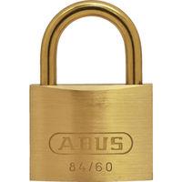 日本ロックサービス ABUS 真鍮南京錠 84MB-60 同番 84MB-60-KA 1個 445-1724(直送品)