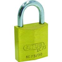 日本ロックサービス ABUS 真鍮南京錠 EC75-50 ディンプルシリンダー 同番 EC75-50-KA 1個 445-1791(直送品)