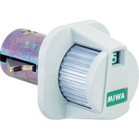 美和ロック MIWA 郵便箱用簡易ダイヤル錠 TRODS1 1個 449-7601(直送品)