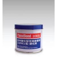スリーボンド エポキシ樹脂系接着剤 湿潤面用 TB2083L 硬化剤 1kg 青緑色 TB2083L-1-K 470-3448(直送品)