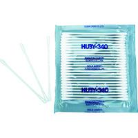 クリーンクロス HUBY ベビースワッブ 1箱(袋)=100本入(25本X4パック) BB-001SP 1箱(100本) 478-6653 (直送品)
