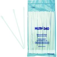 クリーンクロス HUBY コットンアプリケーター(モーターアッセイ) (1箱(袋)=50本入) CA-010SP 1箱(50本) 478-6769 (直送品)