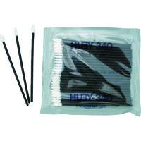 クリーンクロス HUBY フラットスワイプ(導電プラ軸使用)1箱(袋)=100本(25本×4P) FS-010SP 478-6777 (直送品)