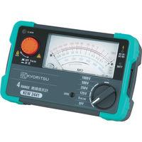 共立電気計器 KYORITSU 3442 4レンジアナログ絶縁抵抗計 KEW3442 1個 479-6535(直送品)