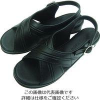 ニッポンスリッパ オフィスサンダル ブラック M 400924 1足 480-3051(直送品)