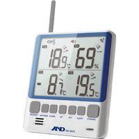 エー・アンド・デイ(A&D) マルチチャンネル温湿度計 AD5663 1セット 480-8380 (直送品)