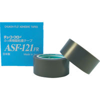 チューコーフロー フッ素樹脂(テフロンPTFE製)粘着テープ ASF121FR 0.08t×19w×10m 486-1779(直送品)