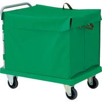 TRUSCO 樹脂台車 グランカート 蓋付ハンドトラックボックス付 900X605 TP-902-THB 489-3247(直送品)