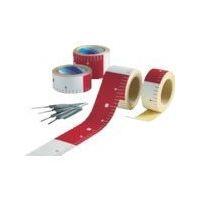 アラオ(ARAO) テープロッド 75w×25M赤白30 ピッチ AR-066 1巻 489-7692 (直送品)