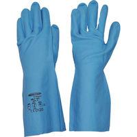 ダンロップホームプロダクツ サミテック 耐油・耐溶剤手袋 サミテックGB-F-06 M ブルー 4491 1双 473-5404(直送品)