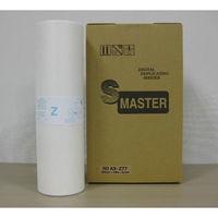 軽印刷機用マスター(リソー用 マスター) Zタイプ77(汎用品) 1箱(2本入) (直送品)