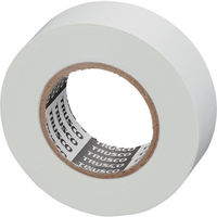 トラスコ中山 TRUSCO 脱鉛タイプビニールテープ 19mmX10m 10巻入り ホワイト GJ2110 126ー2181 (直送品)