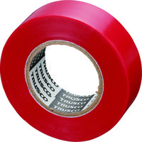 トラスコ中山 TRUSCO 脱鉛タイプビニールテープ 19mmX10m 10巻入り レッド GJ2110 126ー2173 (直送品)