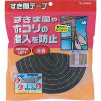 槌屋 すき間テープ ダークグレー 10mm×30mm×2m SKU-002 1セット(16m:2m×8巻) 356-4215 (直送品)