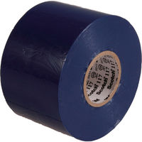 ビニールテープ 117 青 50mmX20m 117 BLU 50X20 1セット(80m:20m×4巻) 356-0066 (直送品)