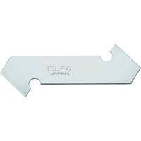 オルファ(OLFA) OLFA PカッターL型替刃(P-800替刃)3枚入ポリシース XB17 1セット(18枚:3枚×6箱) 360-7518(直送品)