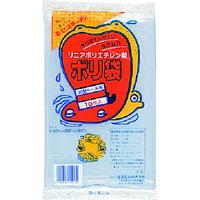 積水フィルム(SEKISUI) 20型ポリ袋 透明 #8 N-9638 1セット(100枚:10枚×10袋) 001-3081 (直送品)
