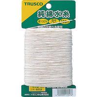 トラスコ中山 TRUSCO 純綿水糸 線径1.2mm 100m巻 MI8100M 1セット(6巻入) 215ー4234 (直送品)