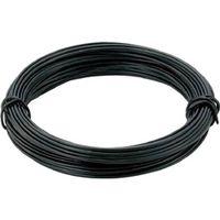 トラスコ中山 TRUSCO カラー針金 小巻タイプ・18番手 黒 線径1.2mm TCWS12BK 1セット(10巻入) 282ー5210 (直送品)