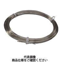 トラスコ中山 TRUSCO ステンレス針金 小巻タイプ 0.55mmX7m TSWS055 1セット(6巻入) 359ー9680 (直送品)