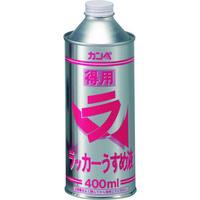 カンペハピオ ALESCO 得用ラッカーうすめ液 400ml NO28804 1セット(3缶:1缶×3) 223ー7121 (直送品)