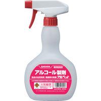 サラヤ(SARAYA) 薬液専用詰替容器 スプレーボトル アルコール共通500ml用 53044 1セット(4本) 311-0745 (直送品)