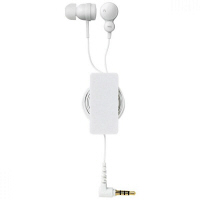 エレコム 巻取付きスマートフォン用ステレオヘッドホンマイク EHP-CS3540RWH (直送品)