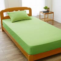西川リビング カラーパレッド ベッドシーツ クイーンサイズ 幅1600×奥行2000×高さ300mm グリーン (直送品)