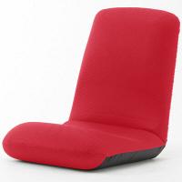 セルタン 座椅子 和楽チェア Lサイズ 幅430×奥行580~1000×高さ130~570mm メッシュレッド (直送品)