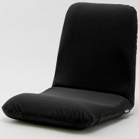 セルタン 座椅子 和楽チェア Mサイズ 幅430×奥行510~850×高さ110~470mm テクノブラック (直送品)