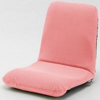 セルタン 座椅子 和楽チェア Mサイズ 幅430×奥行510~850×高さ110~470mm テクノチェリーピンク (直送品)
